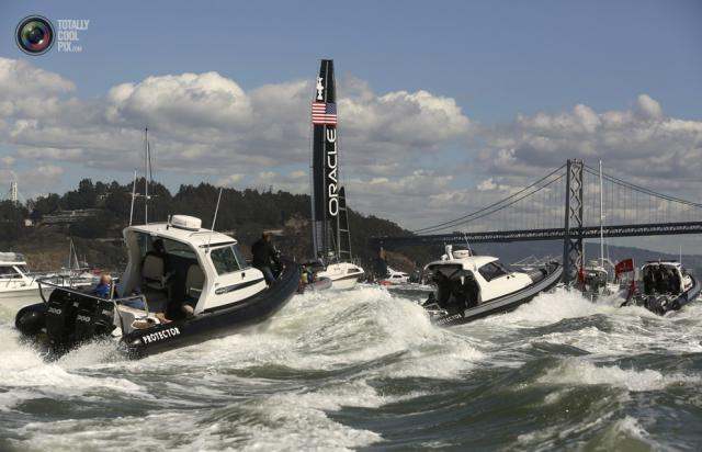 america's cup protector